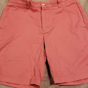 Men's salmon pink Vineyard Vines shorts 32